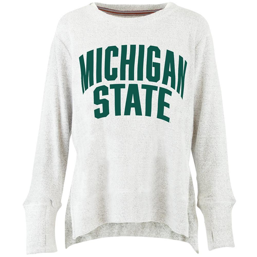 Michigan State Pressbox Women's Kira Cuddle Knit