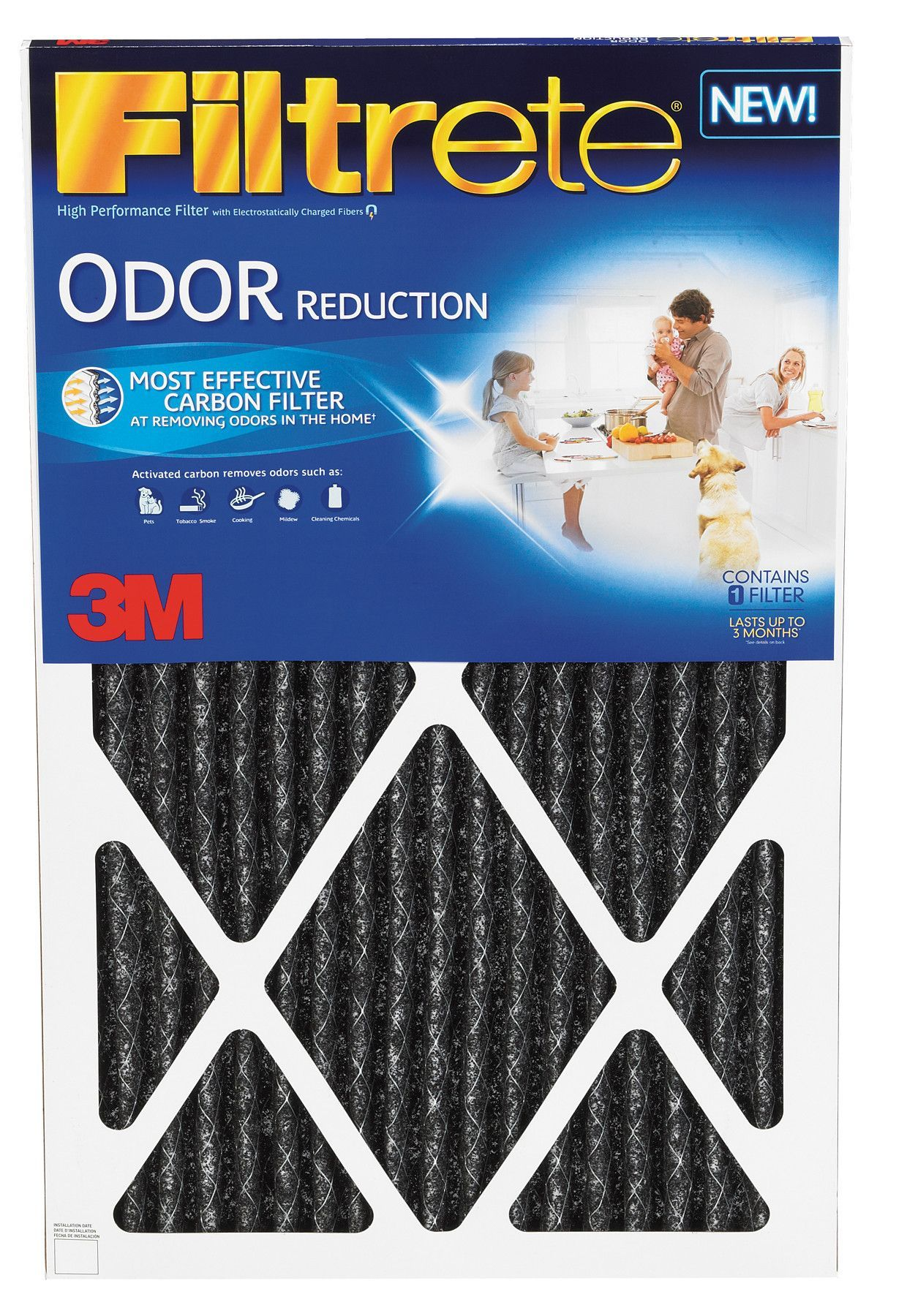 Home Odor Reduction Air Filter Furnace filters, Hvac
