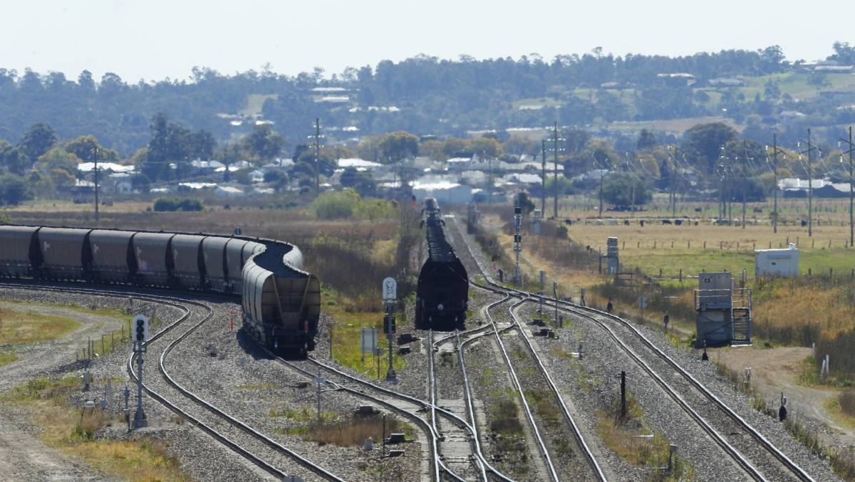 Hunter rail line reopens after repair work concludes at site of coal