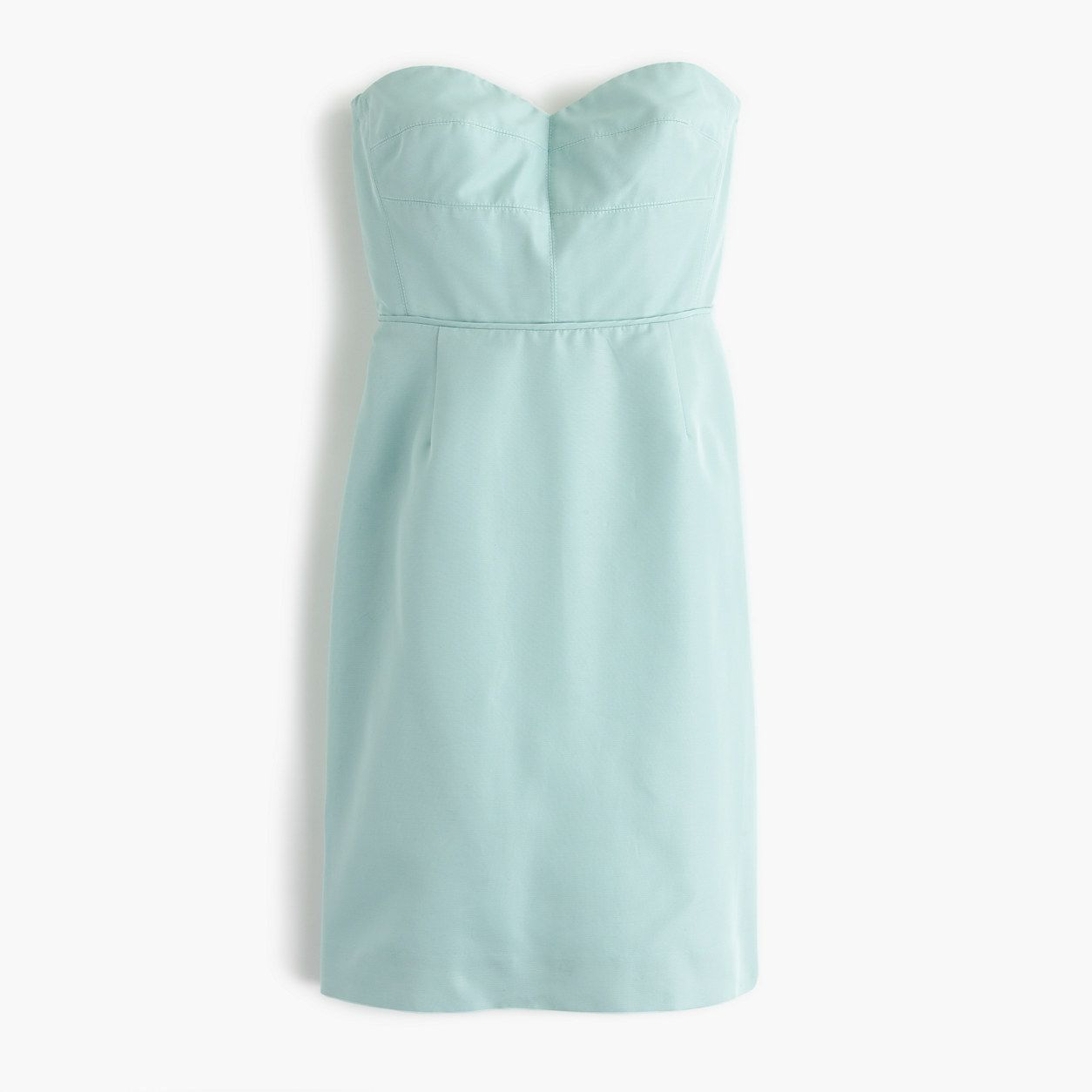 Rory strapless dress in classic faille products