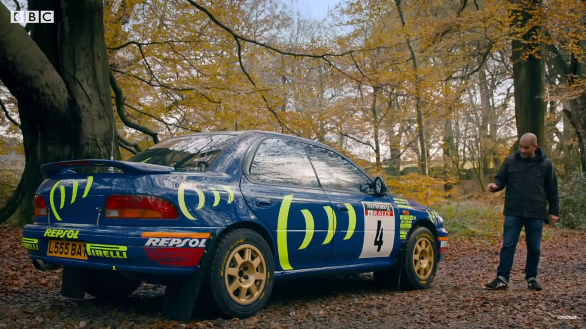 Two Legends Come Together As Chris Harris Gets Behind The Wheel Of Colin Mcrae S Wrc Subaru Impreza Top Speed In 2020 Subaru Impreza Impreza Subaru