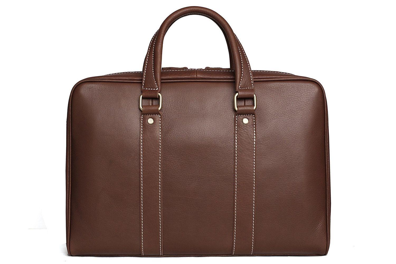 ac867d209f Now selling  Handmade Top Grain Genuine Leather Messenger Bag Laptop Bag  Men   Women Business