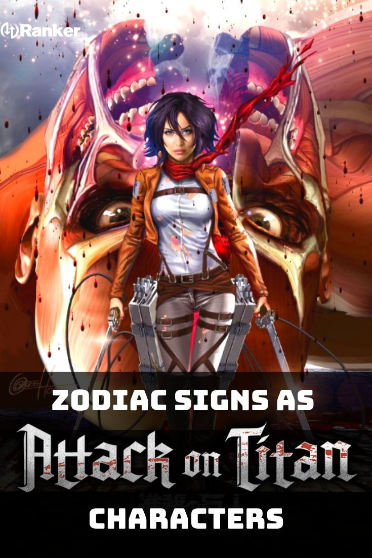 Which Attack On Titan Character Are You, Based On Your