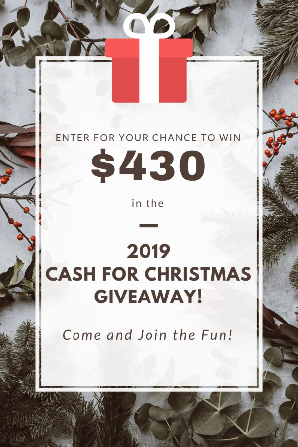 It's time for a Christmas giveaway! Are you getting geared