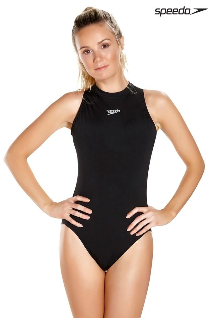 bfbd9d667ad Womens Speedo Hydrasuit Flex Swimsuit - Black   Cool Bathing Suits ...