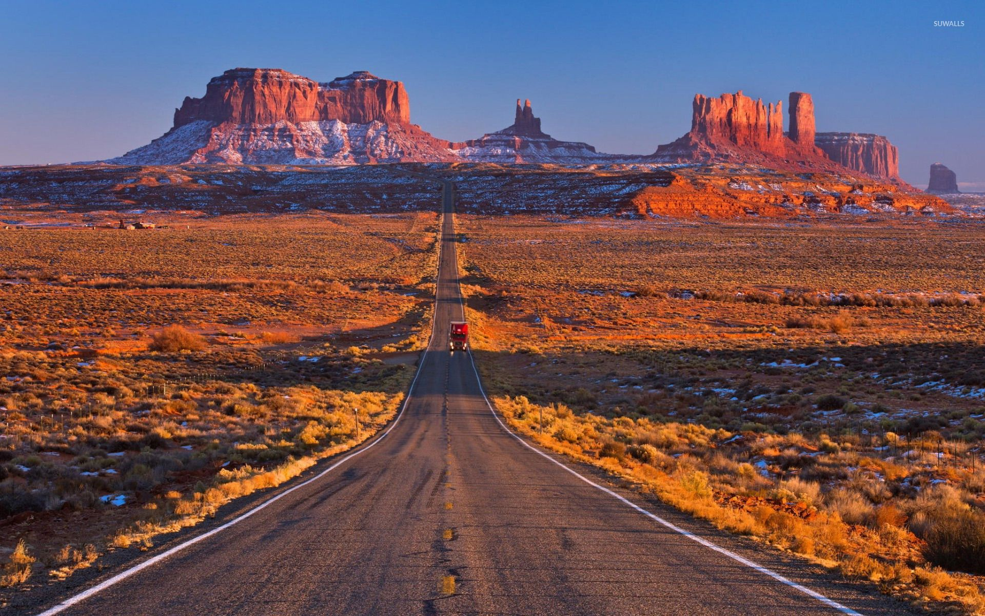 Monument Valley Wallpaper With Images Monument Valley Road