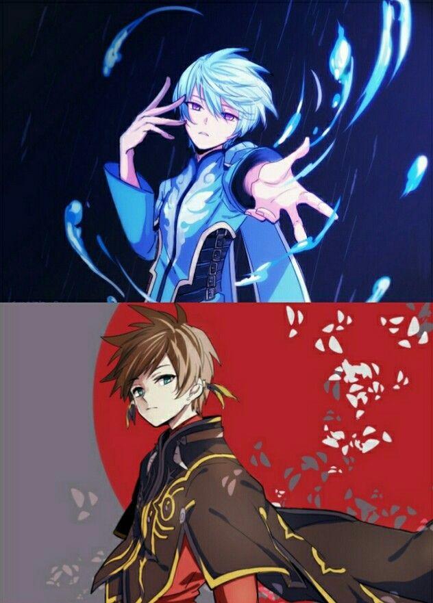 Tales Of Zestiria Sorey And Mikleo Anime Manga Anime