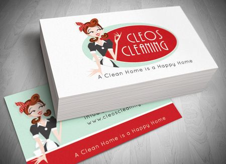 Christmas Cards For Cleaning Company Christmas Cards Business - Cleaning business cards templates