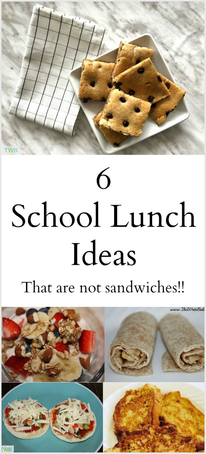6 back-to-school lunch ideas that are not sandwiches | food