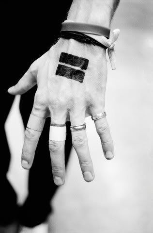 Hand tattoo | Chris martin, Chris martin coldplay, Coldplay