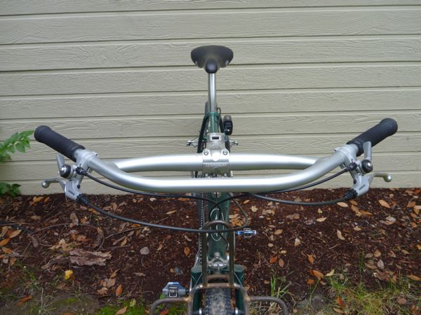 Handlebar Conversion To The Jones Loop H Bar Handlebars For Adventure Bike Touring Touring Bicycles Adventure Bike Bike