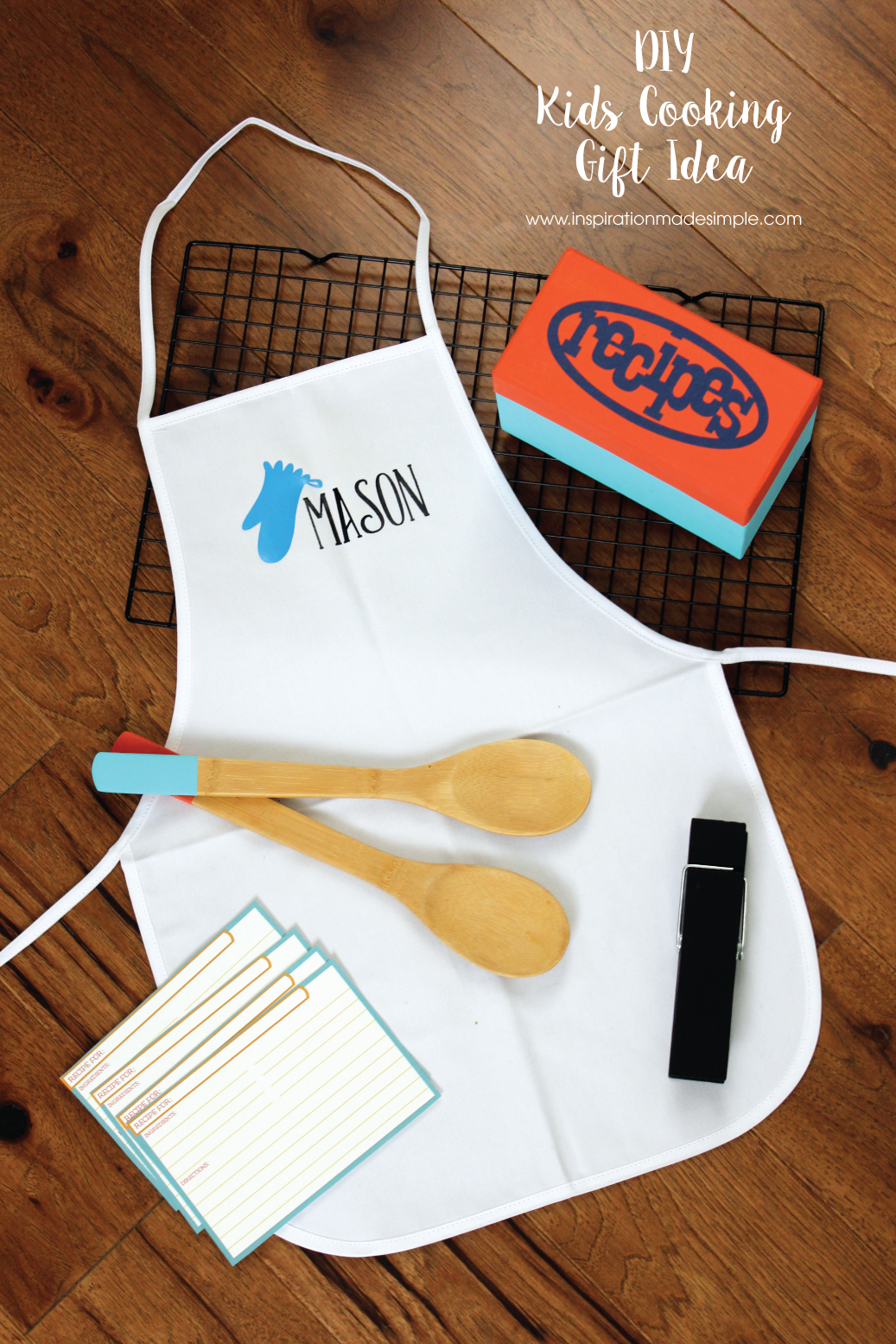 DIY Kids Cooking Gift Idea
