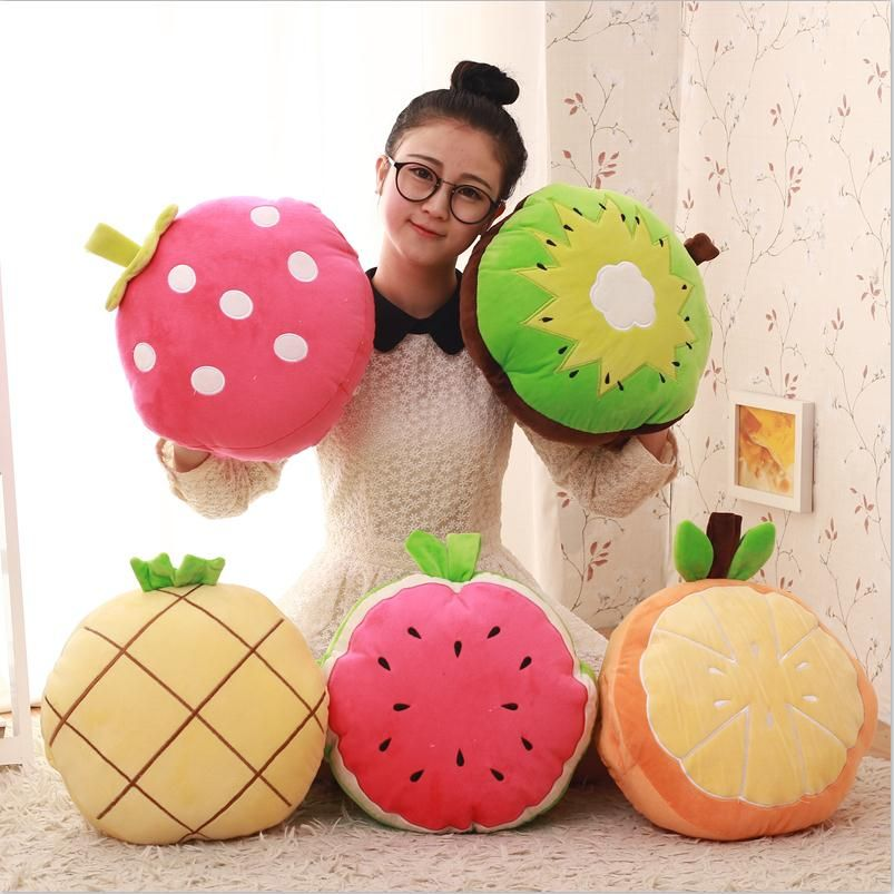 New Creative 1m*1.7m Summer Fruit Cotton Office Chair Back