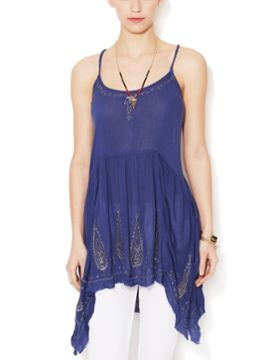 Meadow Embroidered Tunic from New Weekend Favorites on Gilt