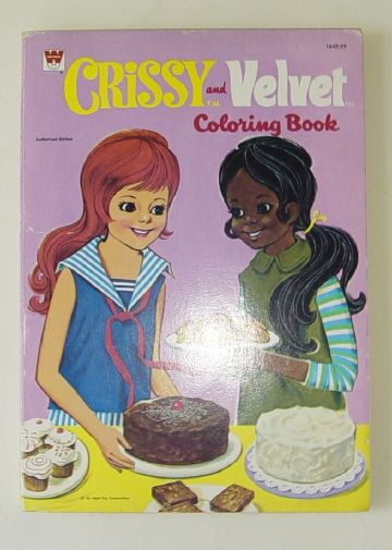 Crissy and Velvet Coloring Book | Dolls - Crissy and friends ...