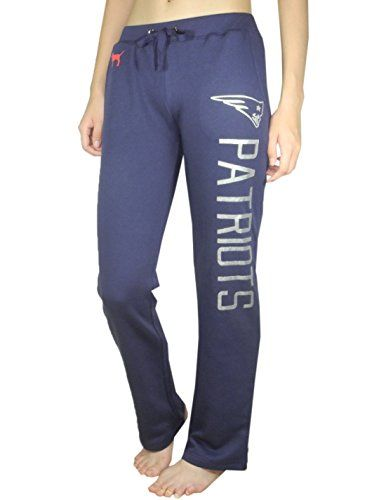 fd4ca81353d8d Pink Victorias Secret Womens NEW ENGLAND PATRIOTS Pajama Pants M ...