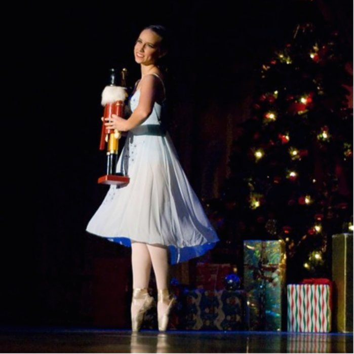 Clara Dances with her Nutcracker Doll in the 2008 IVCBT Production of Nutcracker