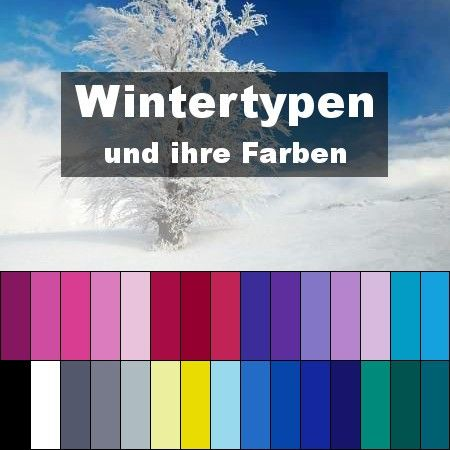die wintertyp farben typberatung style my fashion wissenswertes pinterest typberatung. Black Bedroom Furniture Sets. Home Design Ideas