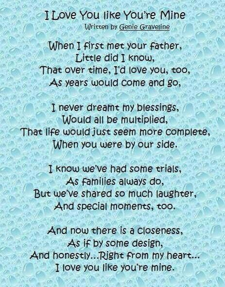 Vows Stepparenting Step Children Quotes Step Mom Quotes Mom Quotes