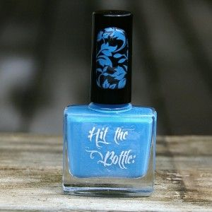 "Hit the Bottle ""Smurf Blood"" Stamping Polish"