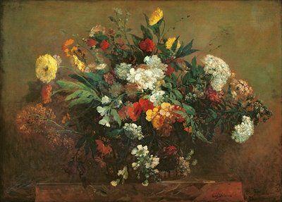 ferdinand victor eugene delacroix: flowers