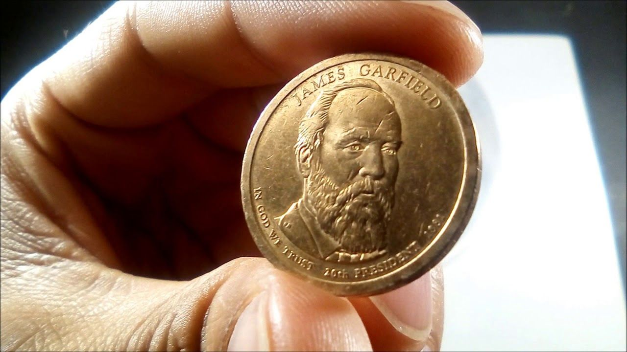 james garfield $1 coin