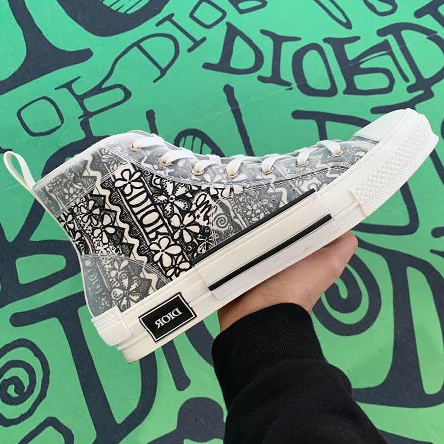 Dior x Air Jordan 1 亮相後,Dior x Stussy 聯名鞋款也曝光了!網友哀嚎:錢包對不起