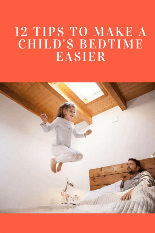 12 tips to make a child's bedtime easier