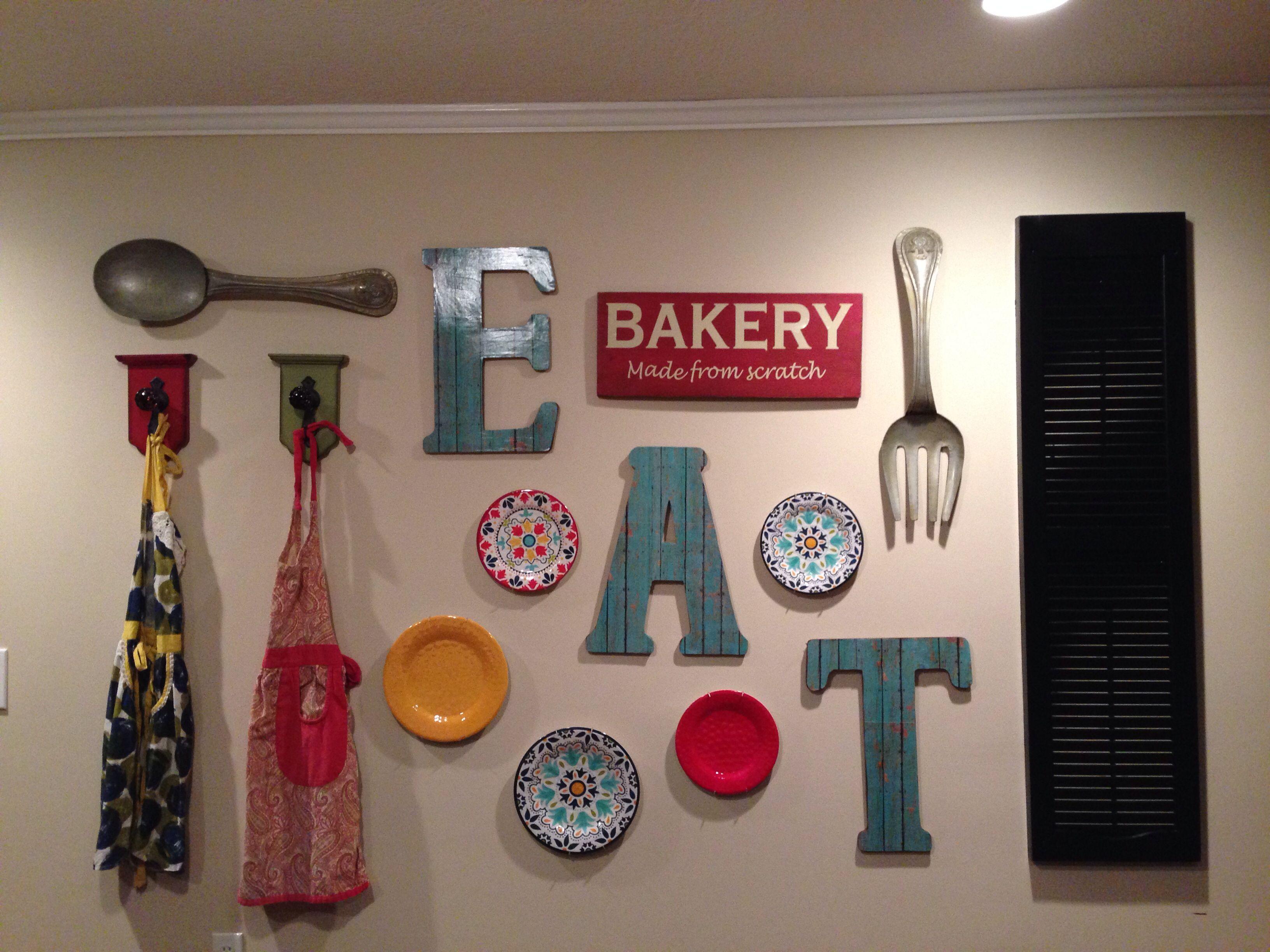 Kitchen Gallery Wall | Modern kitchen wall decor, Kitchen ...