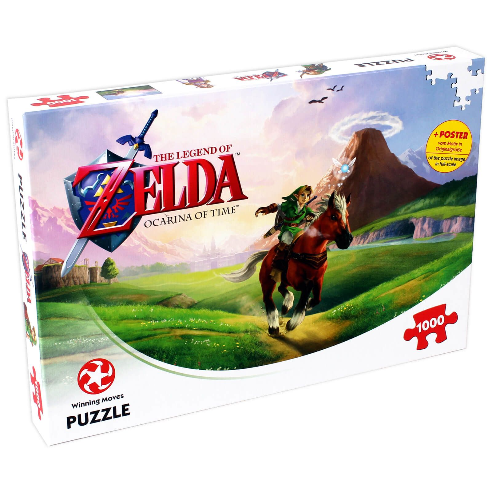 1000 Piece Jigsaw Puzzle The Legend of Zelda Ocarina of