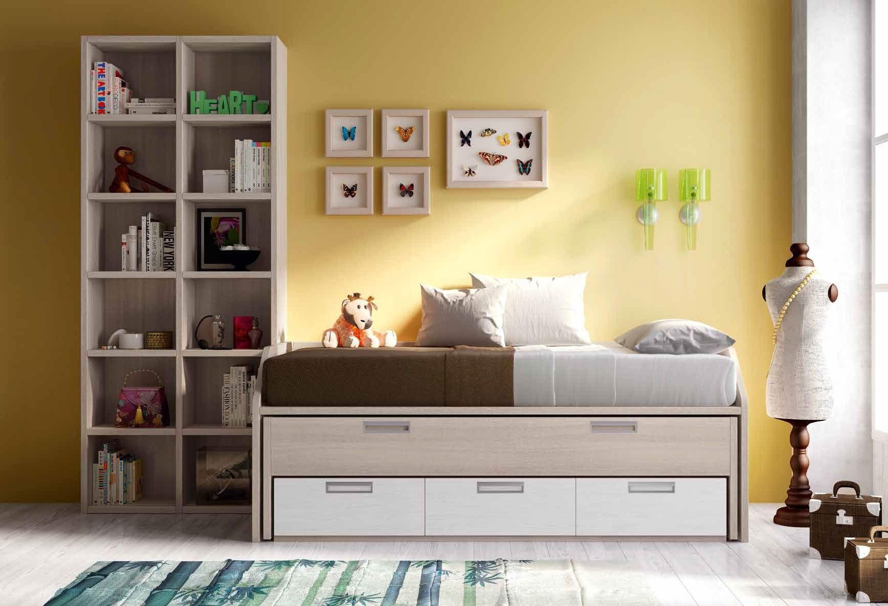 Habitaci n juvenil moderna calandra en mbar muebles - Muebles habitacion juvenil ...