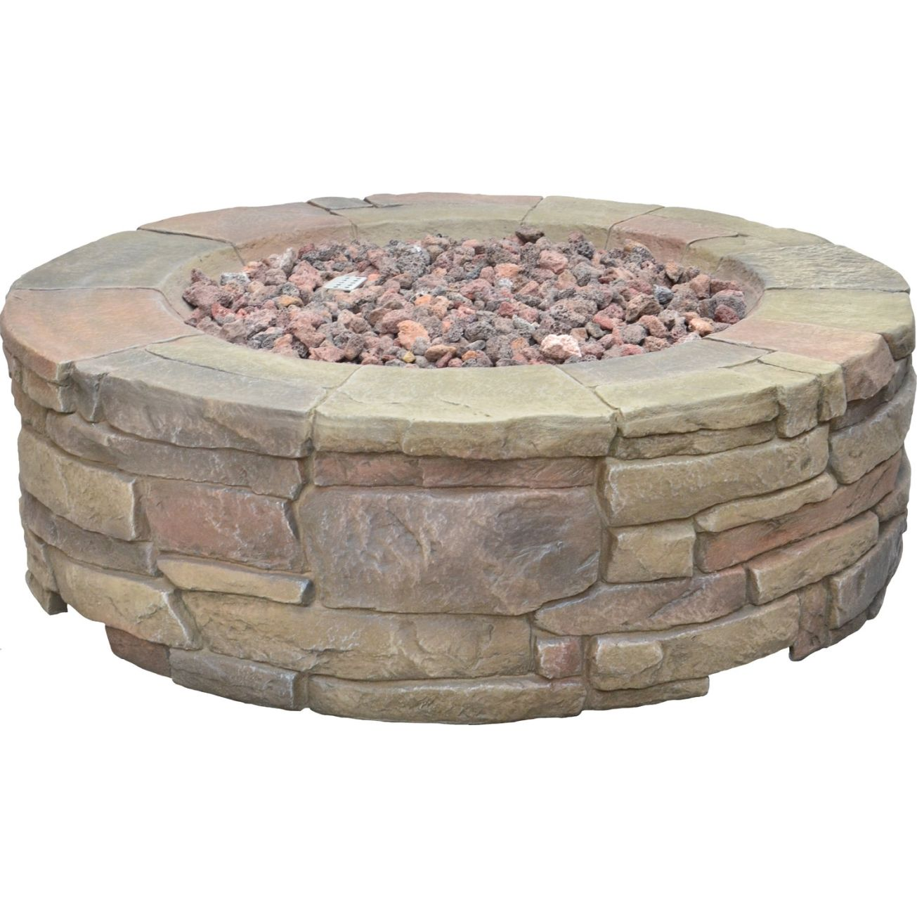 Petra Gas Firepit (67803A) - Outdoor Fireplaces - Ace ... on Ace Hardware Fire Pit id=64510
