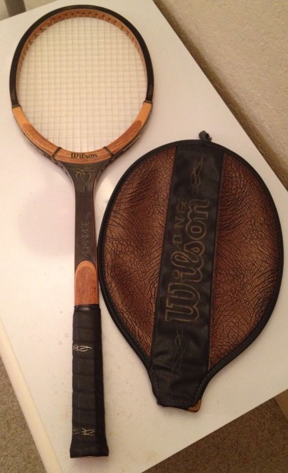 Vintage WILSON ADVANTAGE SELECT Wooden Tennis Racquet. One of my all time  favorite racquets,