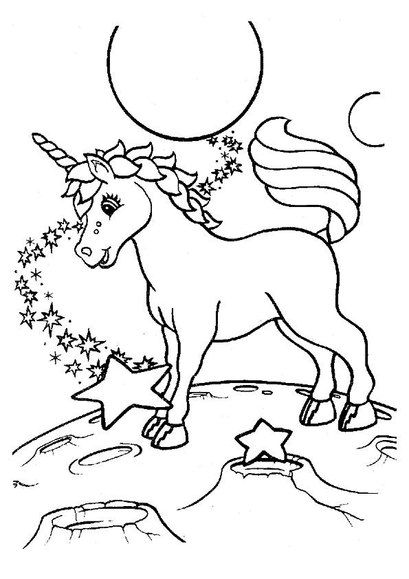 Print Coloring Image Momjunction Unicorn Coloring Pages Butterfly Coloring Page Horse Coloring Pages
