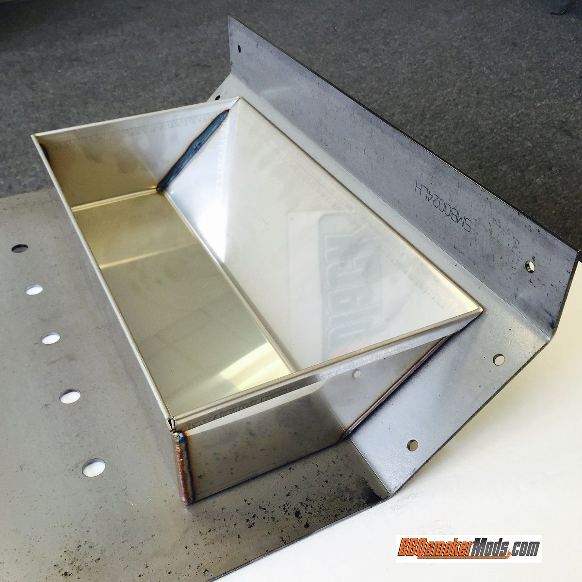 Stainless Steel Water Pan - Fits ALL Baffle Plates by LavaLock® in