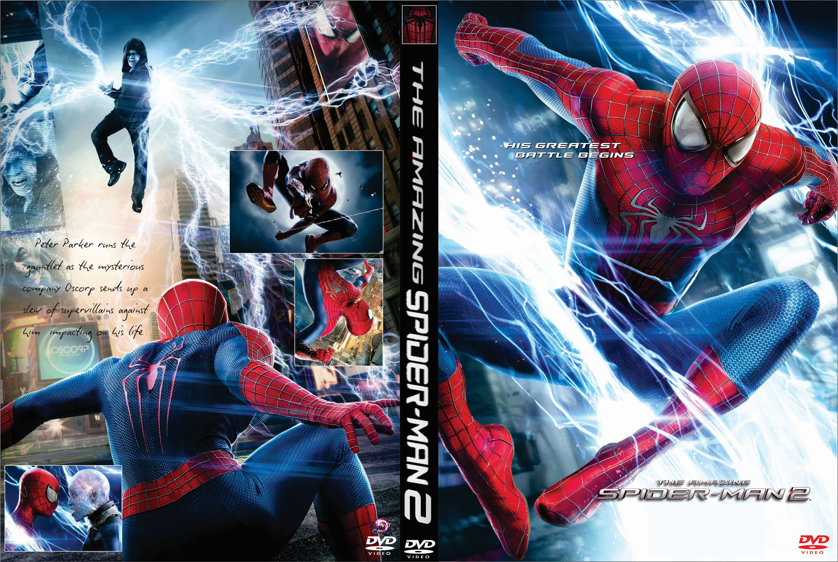 Dvd 2014 The Amazing Spider Man 2 Opa Opticad Com