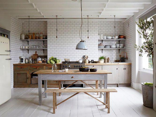 Cozinha Rustica de Madeira e Azulejo Fotógrafo Paul Massey