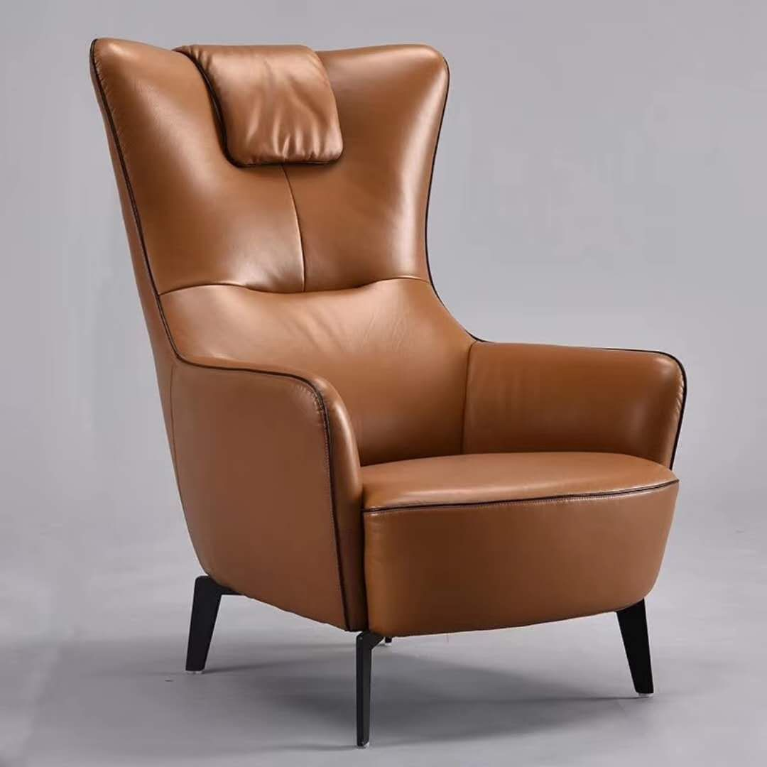 This Long Chair Was Designed By One Italy Designer Looking Very Graceful And Sit Very Comfort Modern Lounge Chair Design Armchair Furniture Comfy Leather Chair