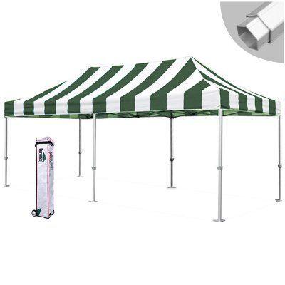 Eurmax Canopy Inc Pro Carnival Stripe 10 x 20 ft. Professional Trade Show Canopy -  sc 1 st  Pinterest & Eurmax Canopy Inc Pro Carnival Stripe 10 x 20 ft. Professional ...