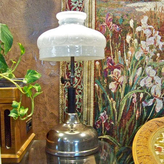 Vintage Coleman Quick Lite Gas Lamp 1920s By Cynthiasattic On Etsy, $149.00