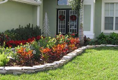 Landscaping ideas central florida of central florida for Florida landscape ideas front yard