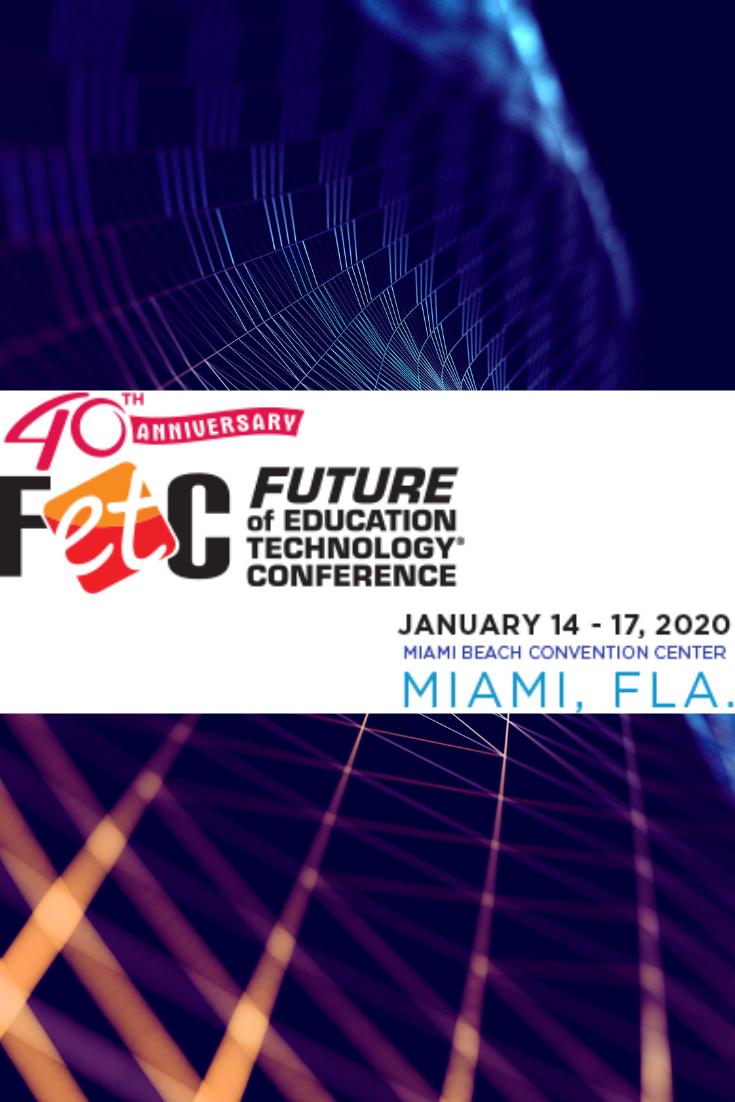 Fetc 2020 Educational Technology Creative Education Education