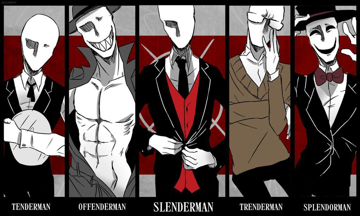 Slender Brothers By Alloween On DeviantArt