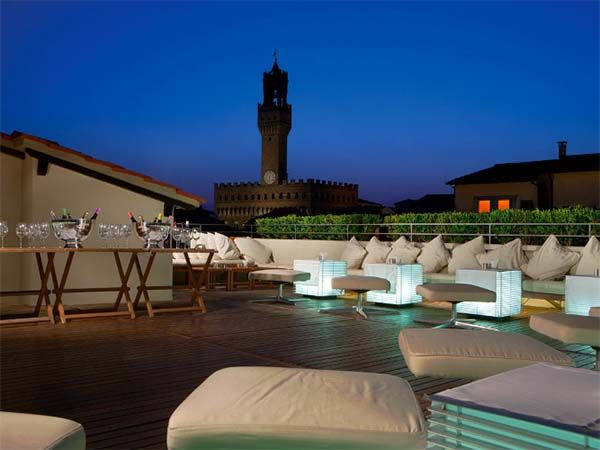 La Terrazza Florence Rooftop Bar Rooftop Terrace Luxury