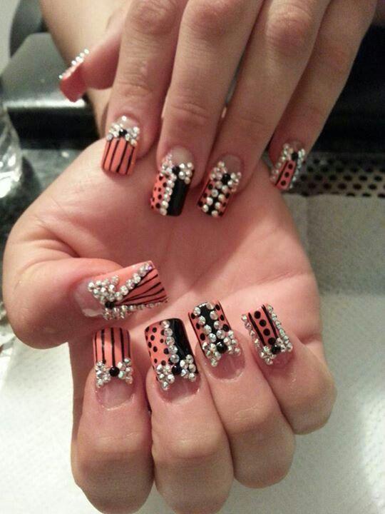 Nails Estilo Sinaloa J.C | nail designs i like | Pinterest | Diseños ...