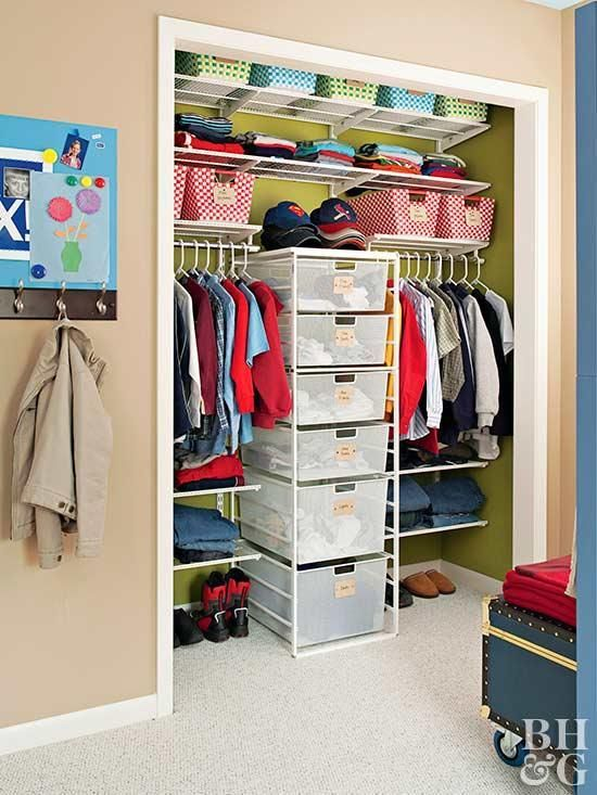 Organize Your Child's Closet With These Kid-Friendly Ideas