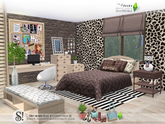 Sims 4 CC\'s - The Best: Jules decor pack by SIMcredible ...