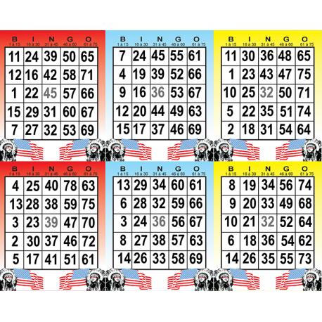 Extremement Bingo américain 1 grille. | Bingo, Carte de bingo, Carte à jouer GG-04