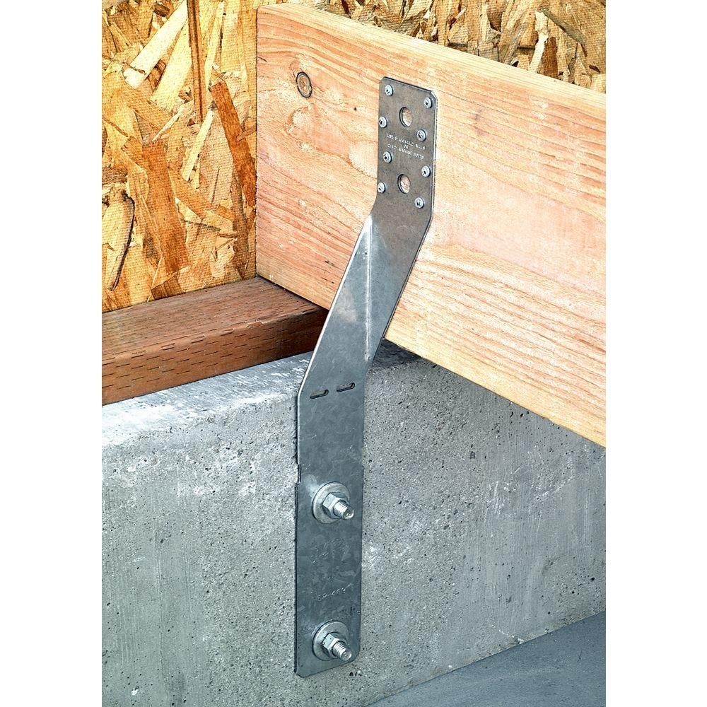 Simpson Strong Tie Fja 19 1 2 In X 2 1 2 In Foundation Anchor Fja The Home Depot The Home Depot Foundation Home