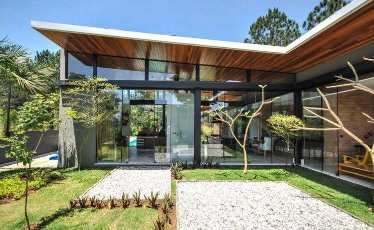 Extension maison  70 idées créatives pour faire grandir votre - faire une extension de maison